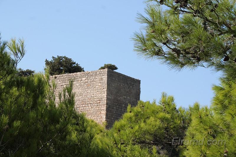 Замок Монолитос, Родос