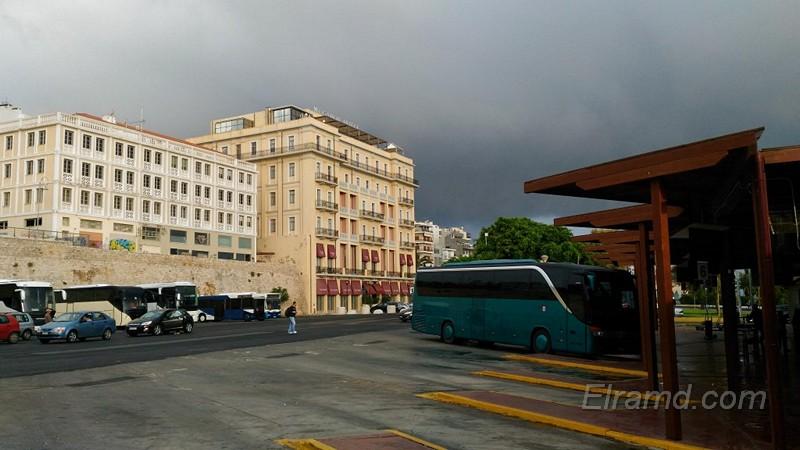На автовокзале Ираклиона