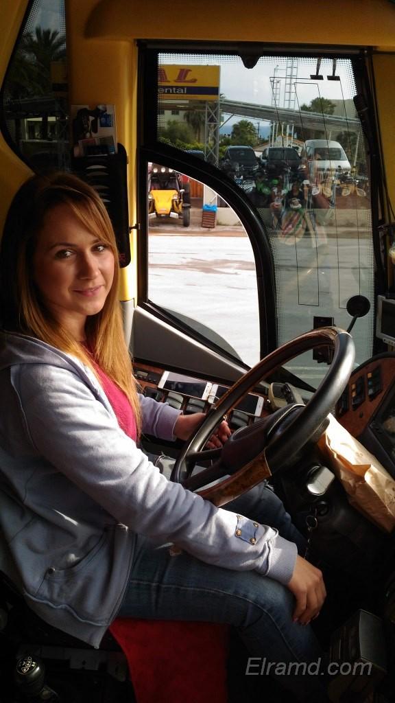 Водитель междугороднего автобуса