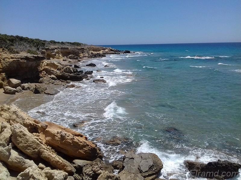 Северный берег острова Кос
