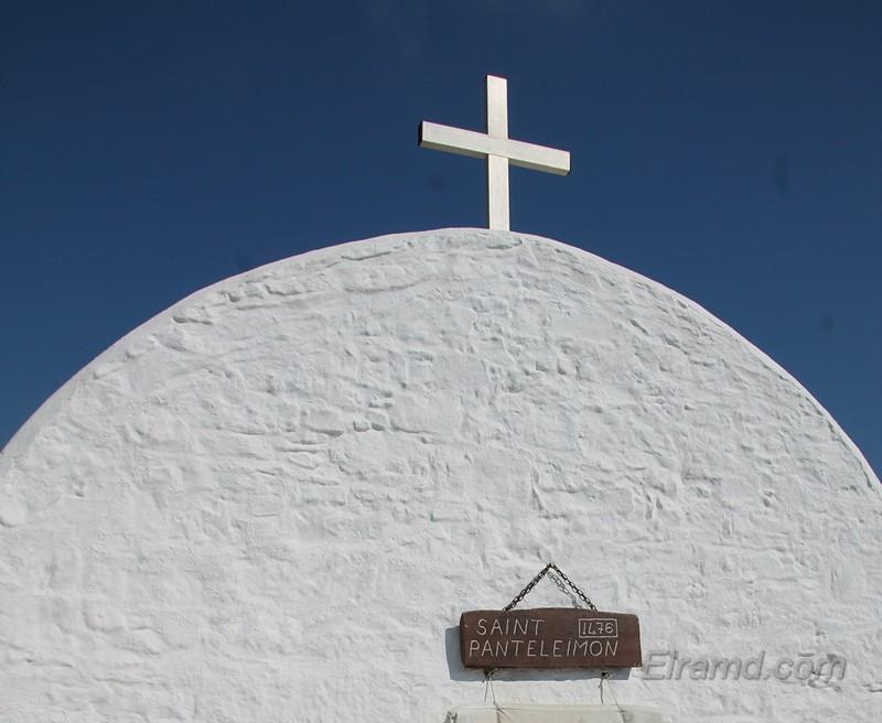 Часовня Св. Пантелеймона, Монолитос