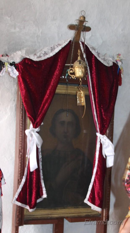 Икона Св. Пантелеймона, Монолитос