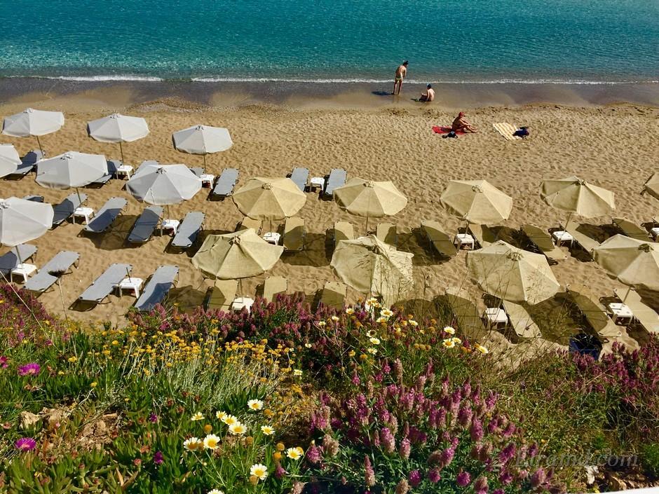 Голден бич а для нас просто отельный пляж