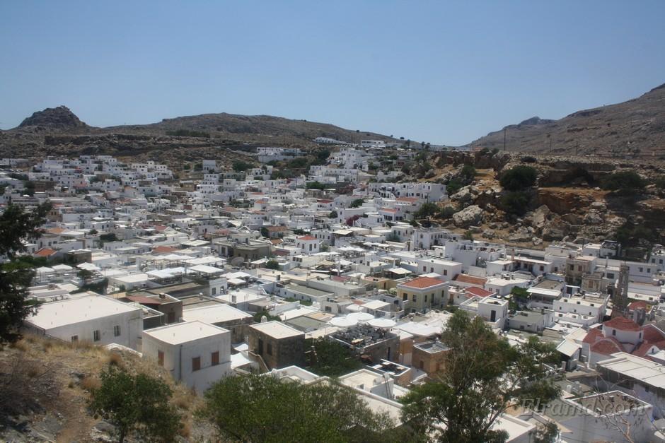 Белые домики Родоса