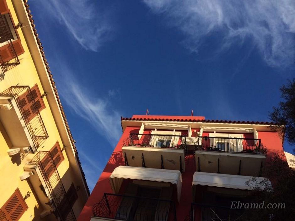 Красный дом в Нафплио
