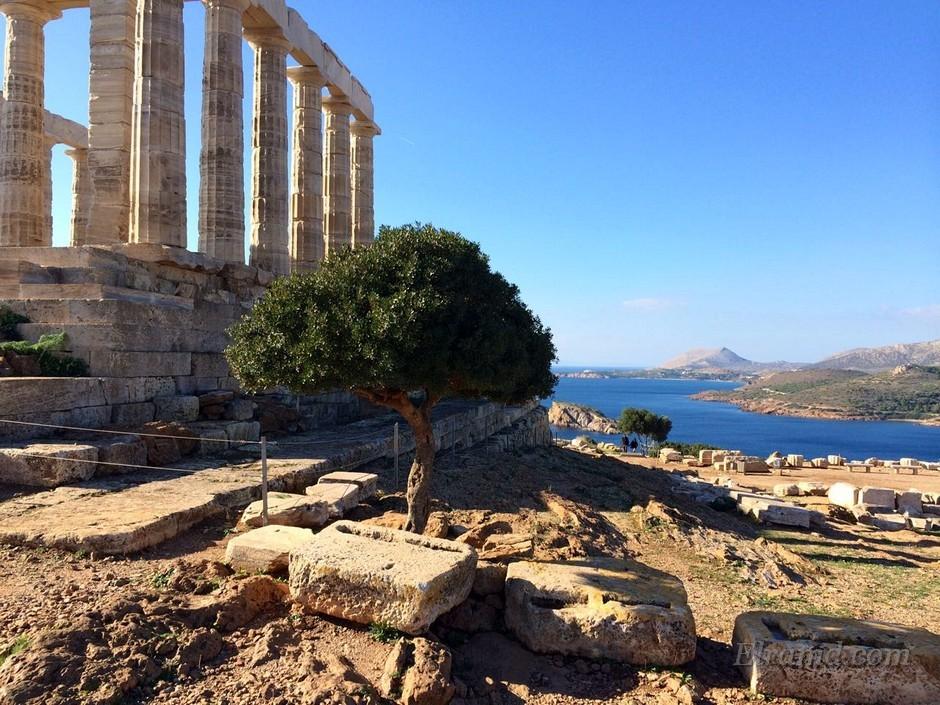 Храм Посейдона, Сунион
