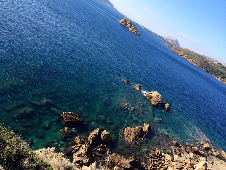 Вид на море, Сунион