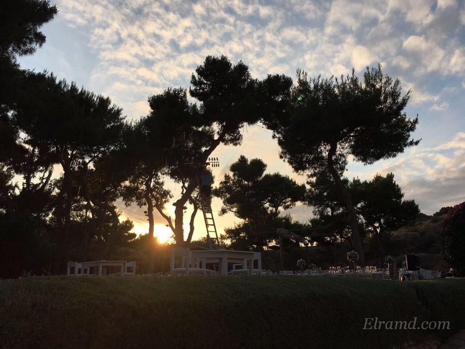 Закат в Вульягмени