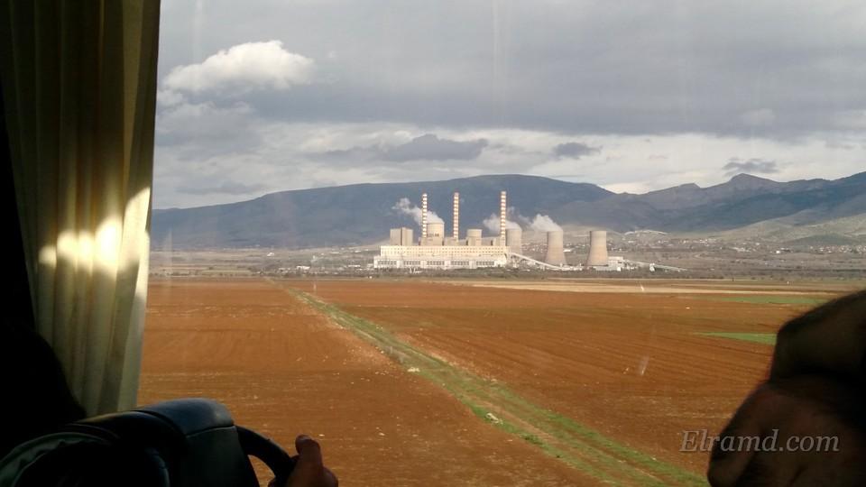 Энергодобывающий комплекс в районе Козани