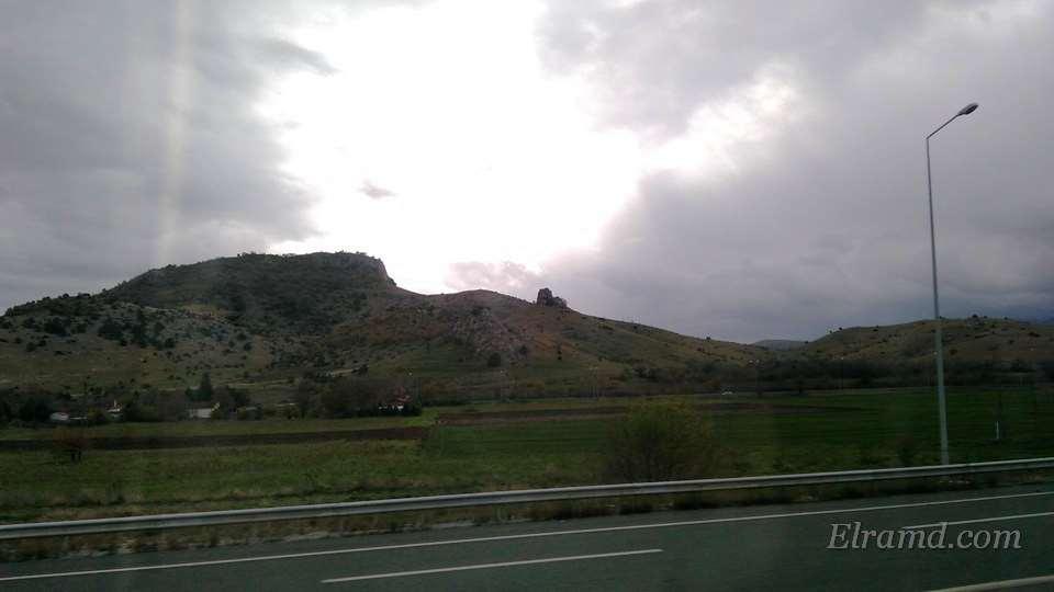 Утрення дорога на Коницу