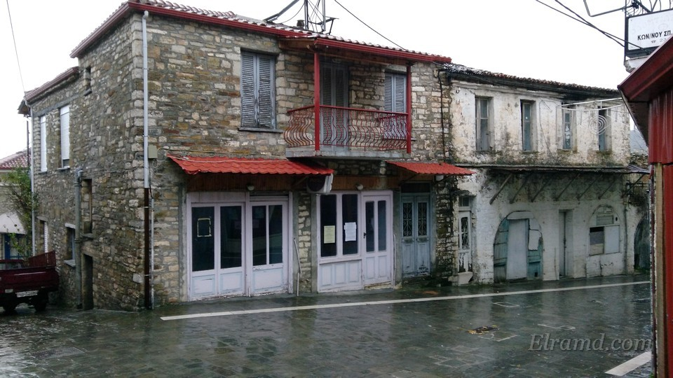 Старые дома в Конице