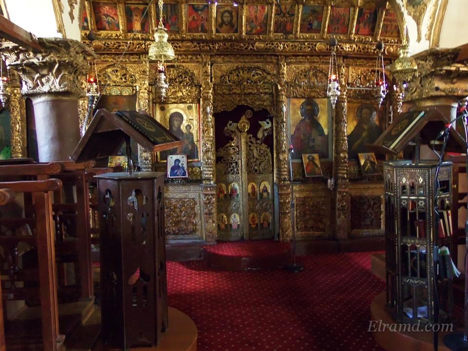 Алтарь церкви Успения Богородицы