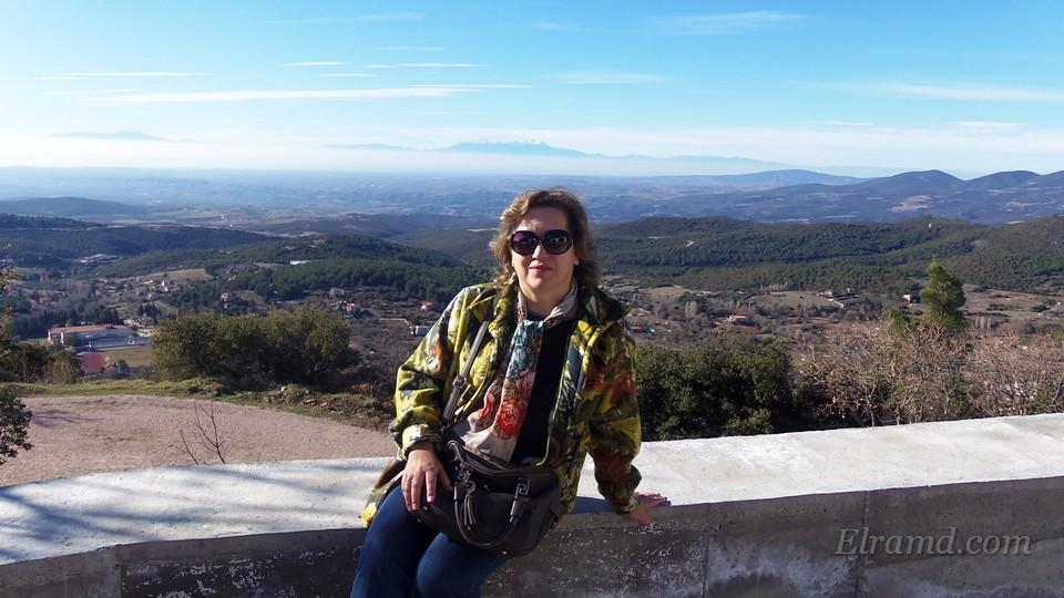 В горах Холомонда зимой