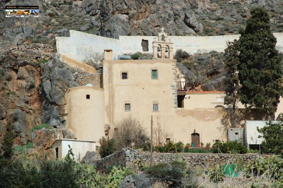 Монастырь Капса, Крит