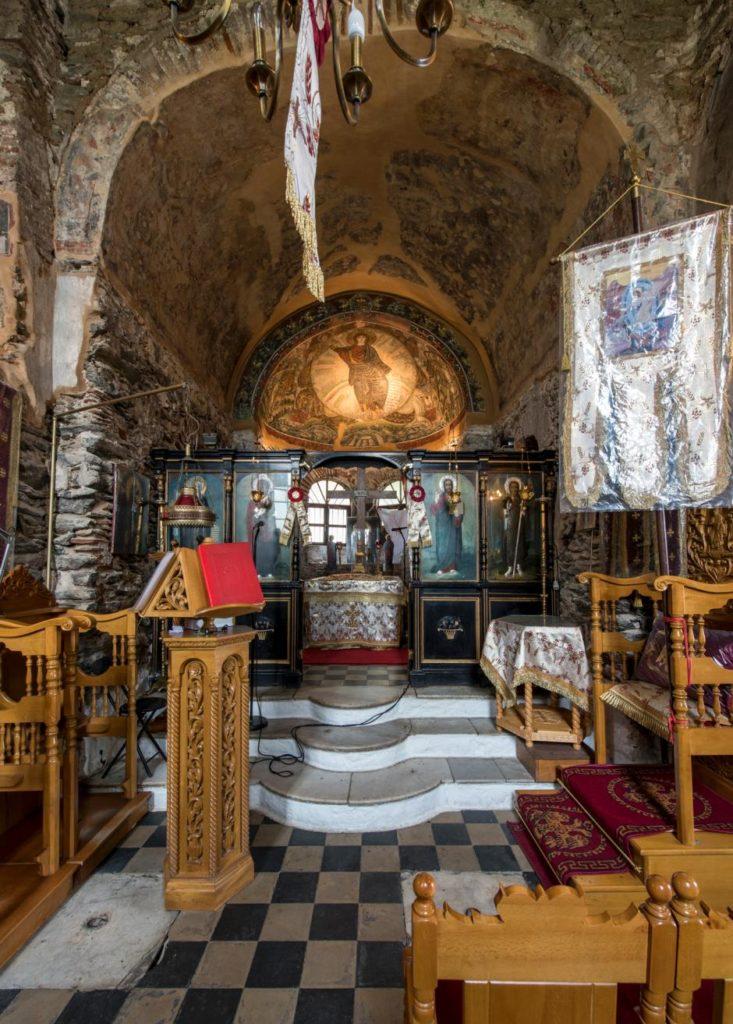 Центральная часть храма Св. Давида