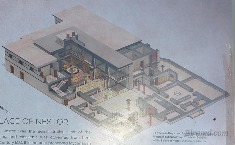 Общий план дворца