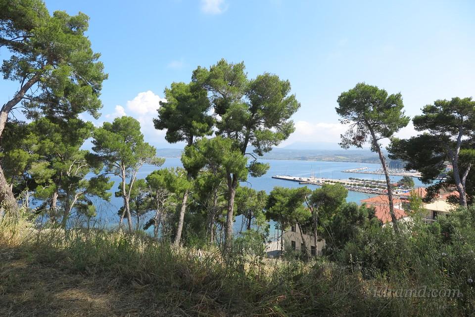 Вид на бухту Пилоса