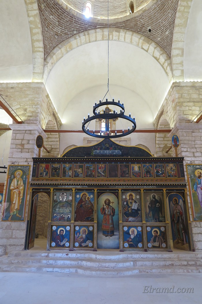 Храм Преображения Господня, иконостас