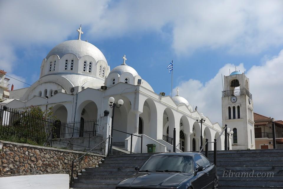 Храм Николая Чудотворца, Пилос