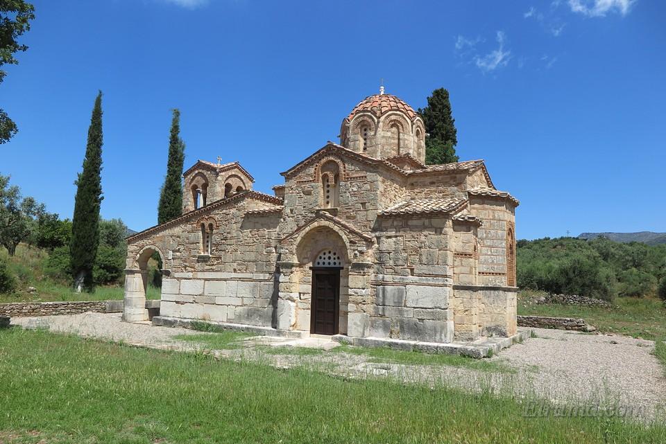 Византийский храм 12 века