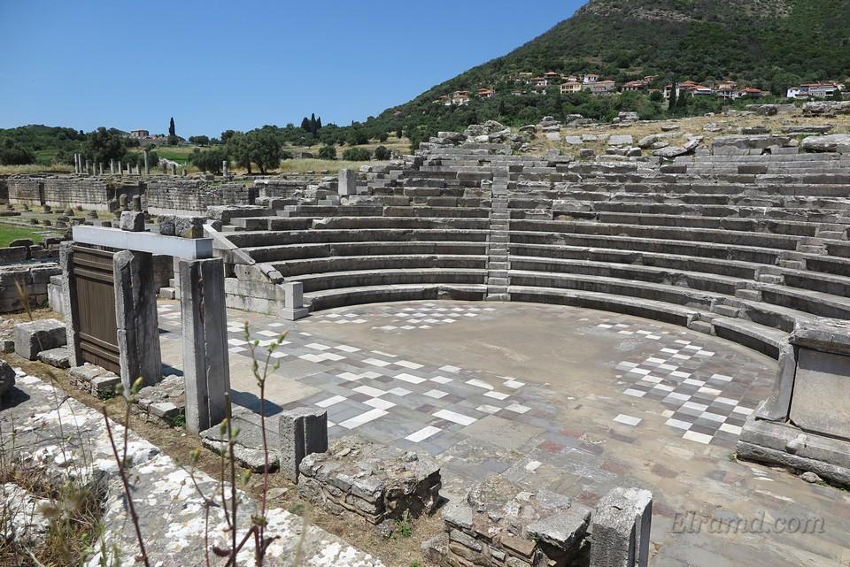 Театр для собраний народных представителей (экклесиастерий) в Асклипио