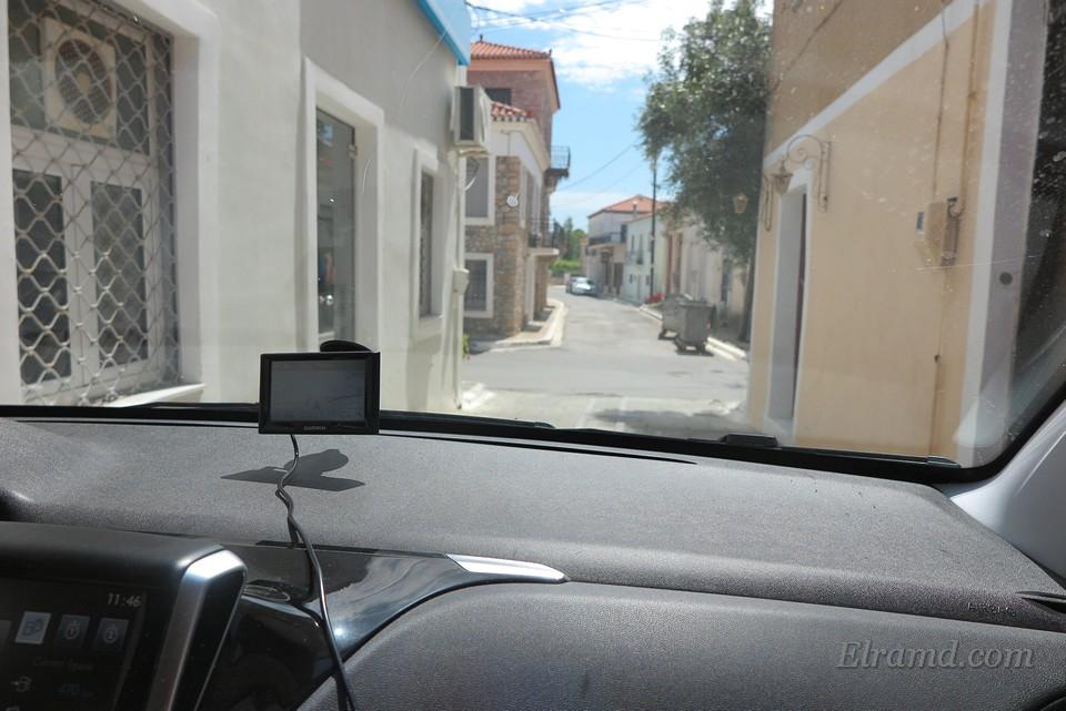 Узкие улочки греческих городов