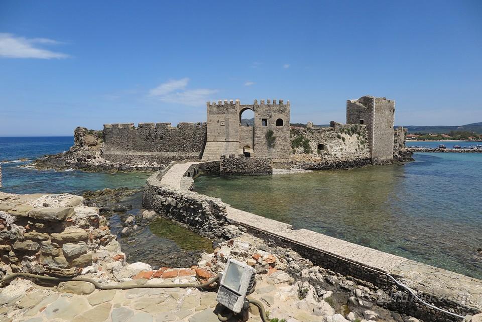 Вид на крепость с моря