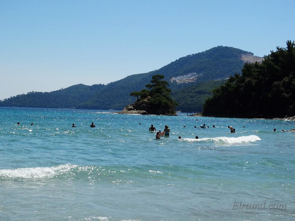 Пляж Макриаммос, Тасос