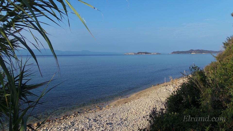 Вид на море и островки