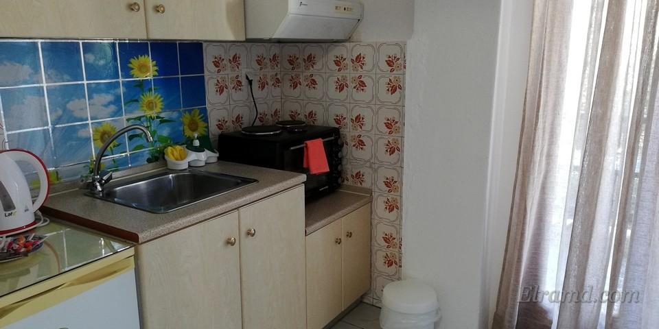 Кухня в нашем номере