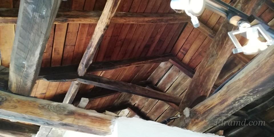 Деревянные перекрытия крыши