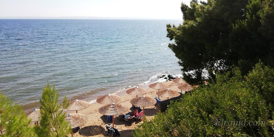 Пляж в Метаморфоси 2018