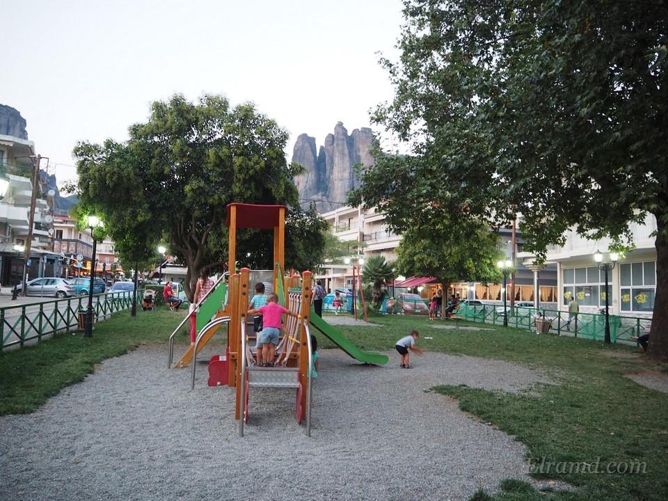 Детская площадка в Каламбаке