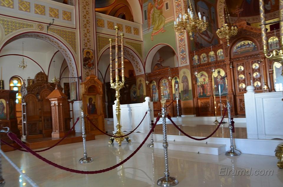 Иконы в кафедральном соборе