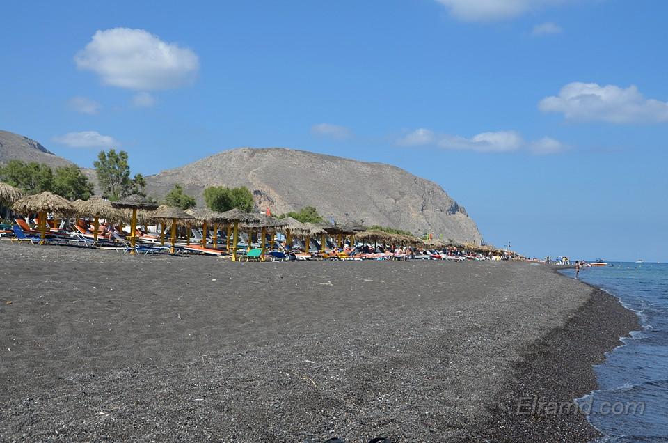 Необычные пляжи Санторини