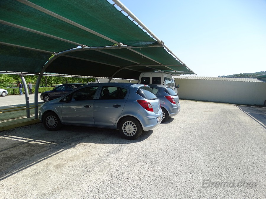 Opel Corsa на Корфу