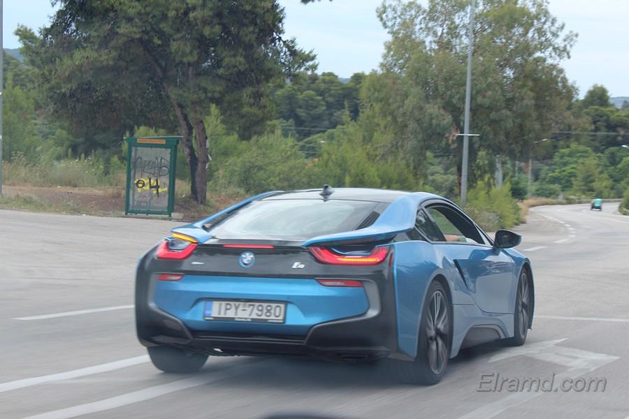 BMW I8 - греки