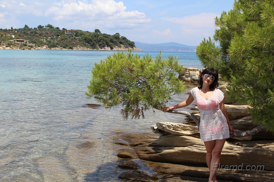 На островке Лагониси