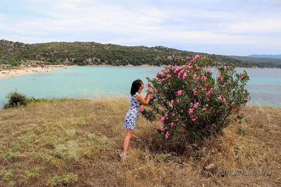На мысу у пляжа Аг. Иоаннис