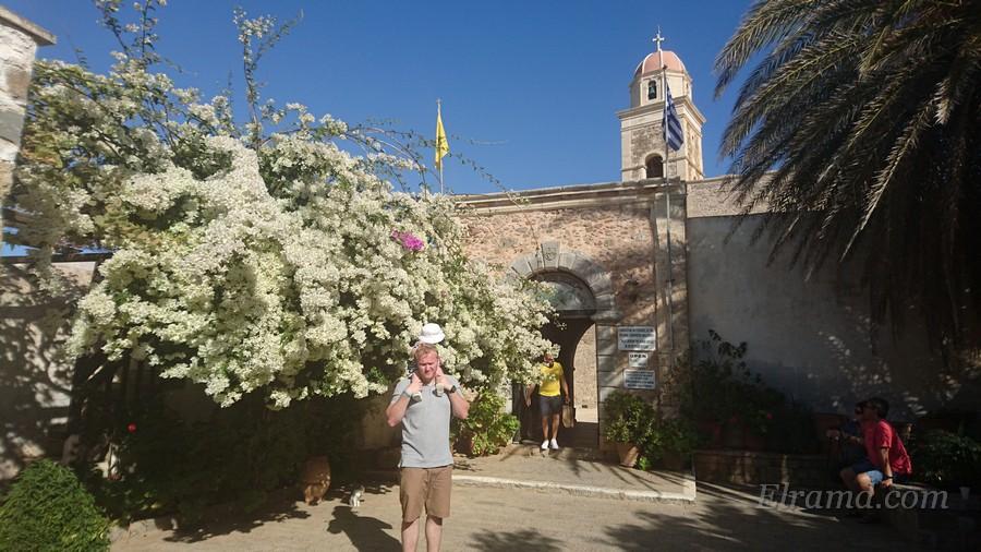 Монастырь Топлу, Восточный Крит