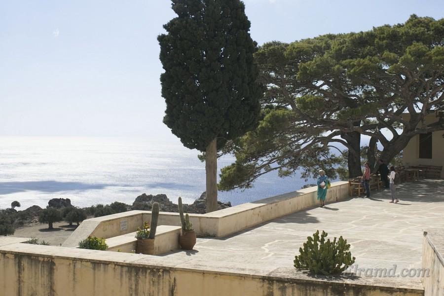 Смотровая площадка монастыря Превели