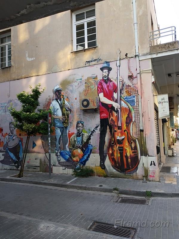 Афинский стрит-арт