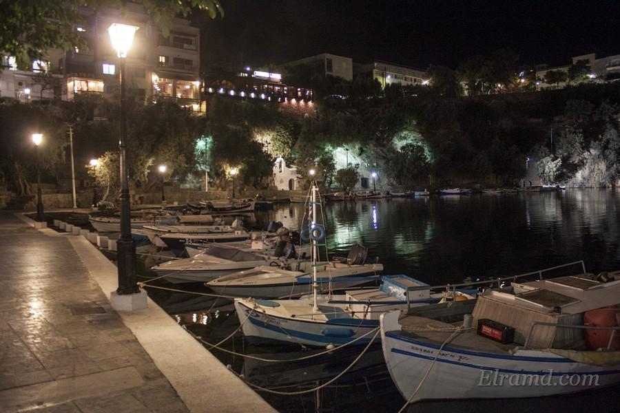 Вечерняя набережная озера Вулизмени