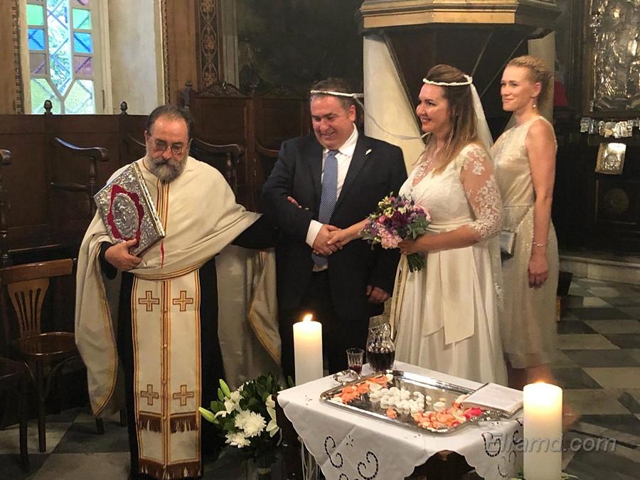Венчание в греческом храме