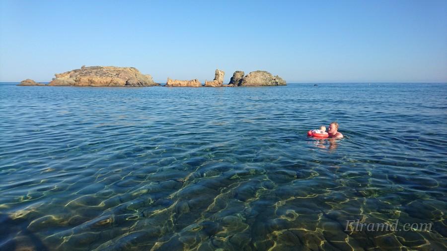 Пляжи Крита в октябре