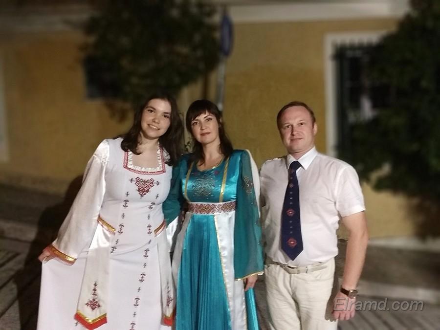 Многонациональная свадьба
