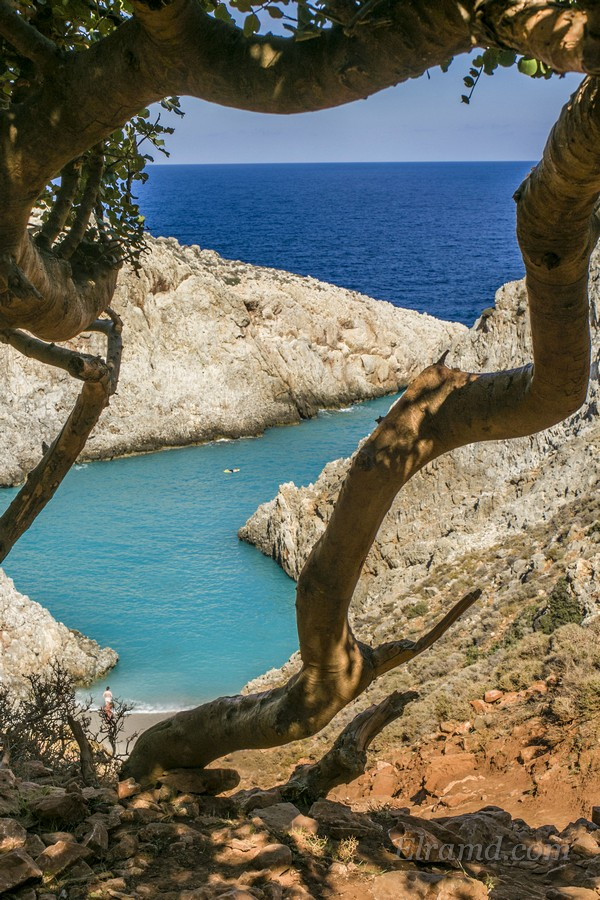 Пляж Стефану, Крит