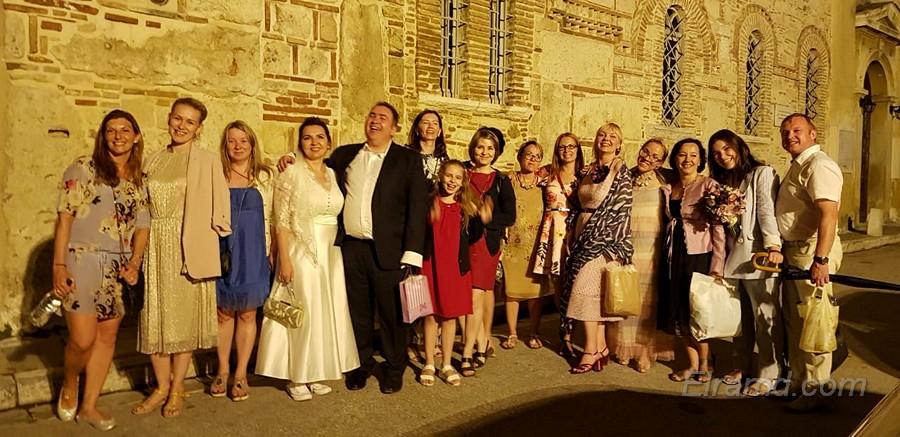 Гости свадьбы из разных стран