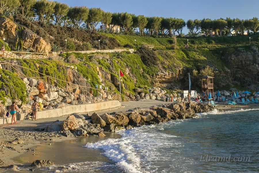 На побережье Западного Крита