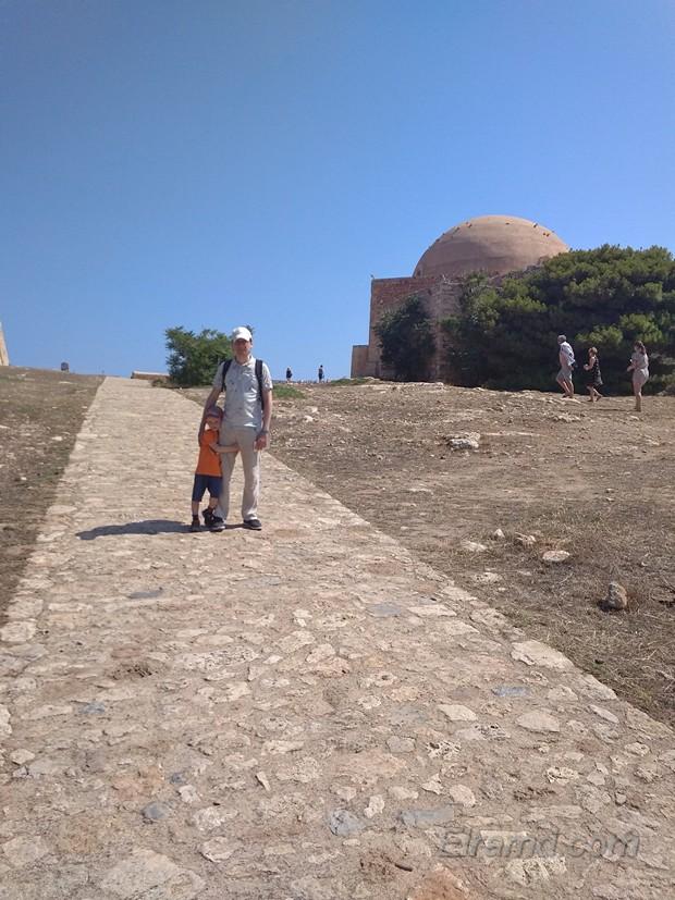 В крепости Фортецца фото на память